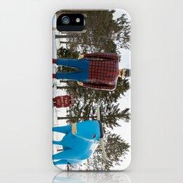 Paul + Babe iPhone Case