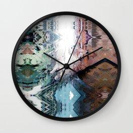 Aloha crisscross glitch mirth. Wall Clock
