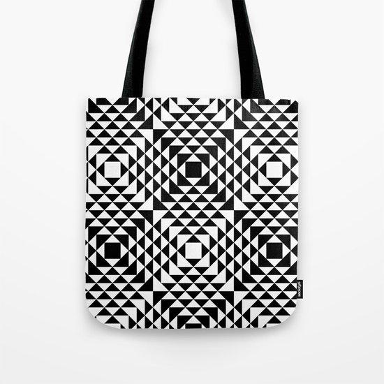 Geometric Tribal Tote Bag