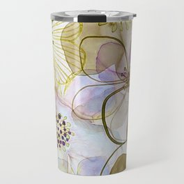 FLOWER PATTERN Travel Mug