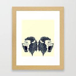 leon leon Framed Art Print