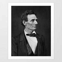 Abraham Lincoln Photo Portrait Art Print