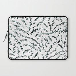 Eucalyptus branch /Agat/ Laptop Sleeve