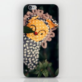 woodland spirit - cute lion iPhone Skin