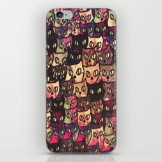 cat-63 iPhone & iPod Skin
