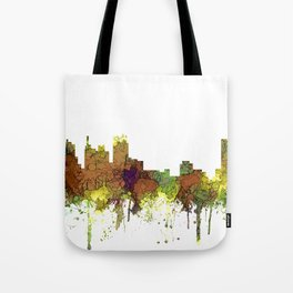 Detroit, Michigan Skyline SG - Spring Buff Tote Bag