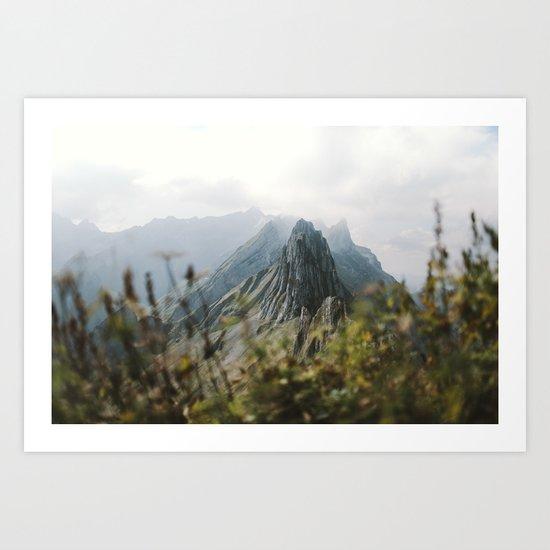 Blue Mountains - Landscape Photography Art Print