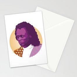 Jazz legend Stationery Cards