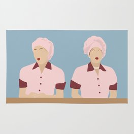 Lucy & Ethel -Chocolate Factory Rug