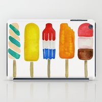 popsicle iPad Cases featuring Popsicle Collection by Cat Coquillette