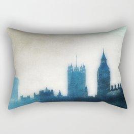 The Many Steepled London Sky Rectangular Pillow