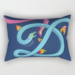 d is for desire Rectangular Pillow