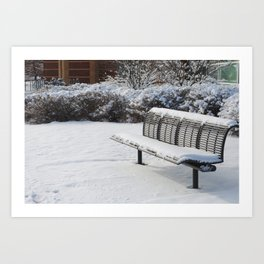 Lovely Snowfall Art Print