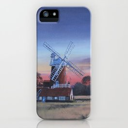 Cley Windmill iPhone Case