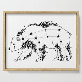 Ursa Major Bear Serving Tray