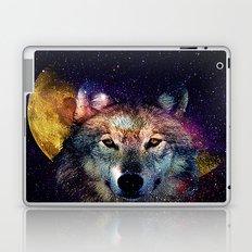 wolf moon space  Laptop & iPad Skin