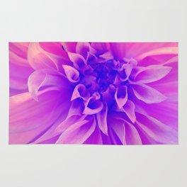 Macro Pink Flower Rug