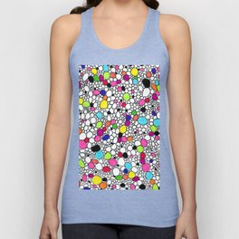 Circles and Other Shapes and colors Unisex Tank Top