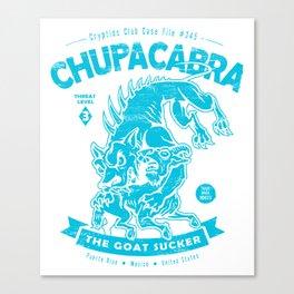 Chupacabra - Crypids Club Case File #345 Canvas Print