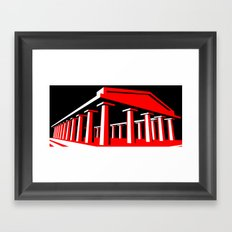Parthenon Framed Art Print
