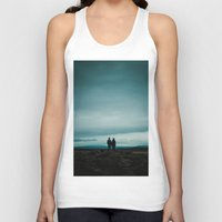 iceland Tank Tops featuring Iceland View by MarsStation