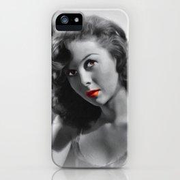 Susan Hayward, Hollywood Icon iPhone Case