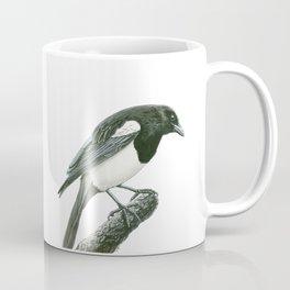 Magpie ink painting Coffee Mug