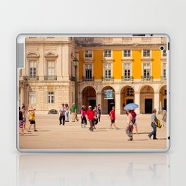 Lisbon Place architecture Laptop & iPad Skin
