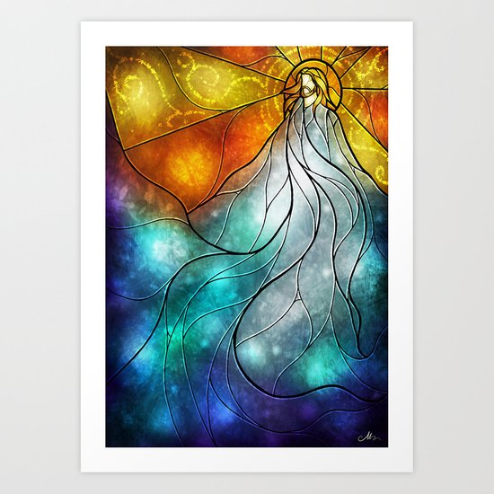 My Redeemer lives Art Print