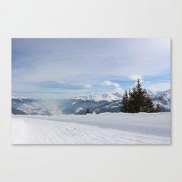Wunderfull Snow Mountain(s) 8 Canvas Print