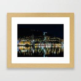City of Bergen, Norway Framed Art Print