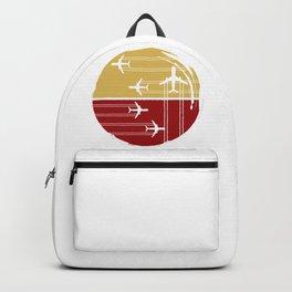 Flying Air Planes Backpack