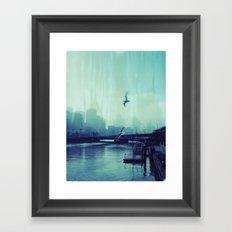 Southbank Framed Art Print