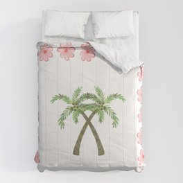 A Pair of Palm Trees   Comforters