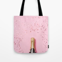 Pink Champagne Party Tote Bag
