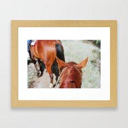 Ranch Time Framed Art Print
