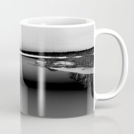 Then There is Cold... in Black and White Coffee Mug