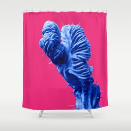 Funky Cactus Shower Curtain