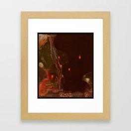 Tether Framed Art Print