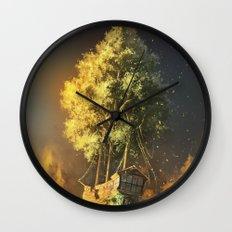 Second Life Wall Clock