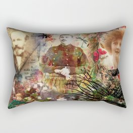 Fresque MEMO Rectangular Pillow
