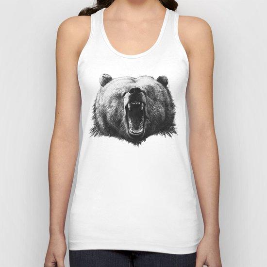 Bear HOBO Unisex Tank Top