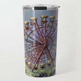 Ferris wheel Chernobyl Travel Mug