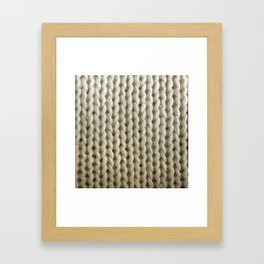 knitwit Framed Art Print
