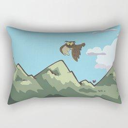 Avery the Owl Rectangular Pillow