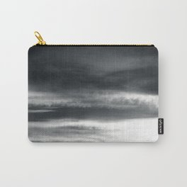 BLACK & WHITE TOUCHING #2 #abstract #decor #art #society6 Carry-All Pouch