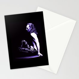 Loki - A Study in Black/White Stationery Cards