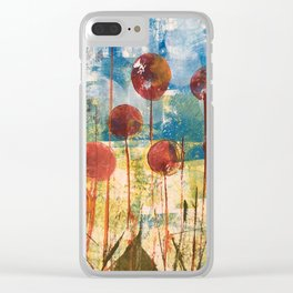 Home Cooked Flowers by Sam Crowe Clear iPhone Case