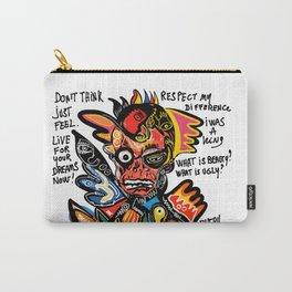 NewYork Graffiti Art Respect Words  Carry-All Pouch