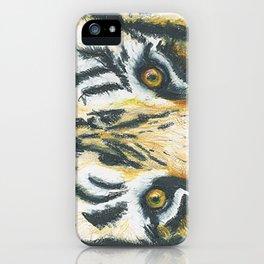 Tiger's Gaze iPhone Case